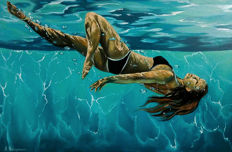 Karin Natusevich - Immersion in water