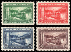 San Marino - 1924-1935 - Lot of 4 complete series