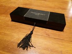 all-new gold-plated fountain pen, Yves Saint Laurent with original box