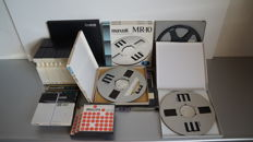 Various 28 cm and other (full) reels, in box and box set