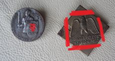 Badge of the Reich Party Congress 1934 and 1935, badges / WW II