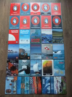 Greenland 1977/2006 - Complete collection year sets