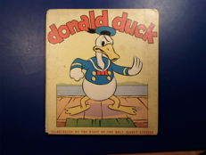 Disney, Walt - Donald Duck 2 - Adventures of Donald - hc - 1e druk (1936)