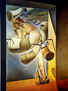 Salvador Dalí (after) - Young Virgin auto-sodomized