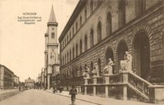 München Bayern 198X - various streets and points of interest - Many tourist cards - 1900/1940