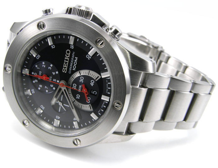 Seiko - Seiko -Chrono - 45mm Japan Mov.  spc095p - Grand Sports - Chronograph - 45 mm  184 Gr  - Heren - 2011-heden