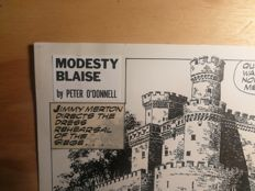 Romero, Enrique Badia - Original comic strip (nr. 3789) - Modesty Blaise