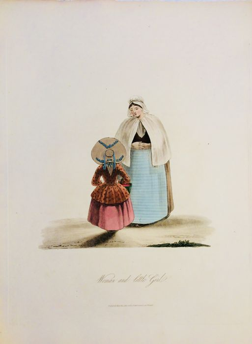 W. Bartlett - The Costume of the Netherlands, Displayed in Thirty Coloured Engravings after Drawings from Nature by Miss Semple - 1817