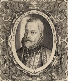 Portrait of Philippus II of Spain