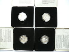 Canada - 50 Cents 1999 'Sport' (4 pieces) - silver
