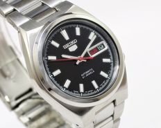 Seiko 5 SNKC55J1 Cal.7S26 Automatic Day/Date Men's Wrist Watch