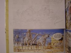Hermann - Original sketch page - Caatinga - (1997)