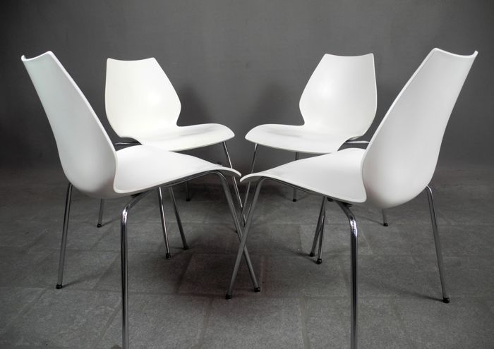vico magistretti for kartell set of 4 maui chairs catawiki