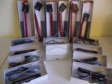 Lot of 16 measuring instruments; temperature probes, TV lines scanning probes, milliammeter - METRIX