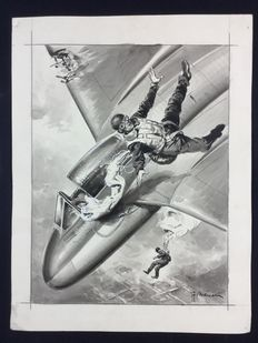 Mairani, Alvaro - original illustration - aviation genre