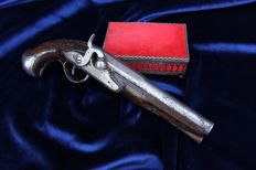 19th century  percussion cap pistol