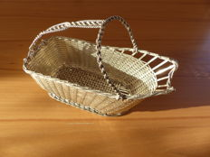 wine basket, Crown, Christofle, 20th century