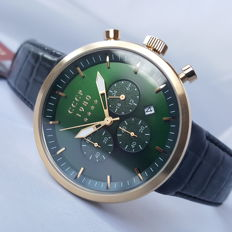 CCCP - Kashalot Dress Chronograph Gold (Men's) - 2018, New, Complete in Box