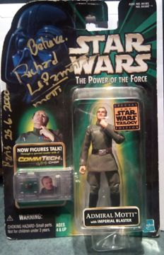 dedicated amiral motti action figure star wars 1999