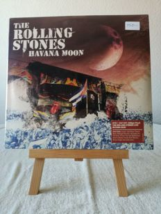 "Lot of 2 Rolling Stones LP ""Havana Moon"" 3LP +DVD and"" Blue and Lonesome"""