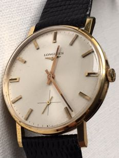 Longines - -18K(0.750) Yellow Gold - 490 - Homme - 1950-1959