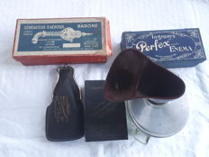 Various early 20th century inhalers, Europe, including pocket models