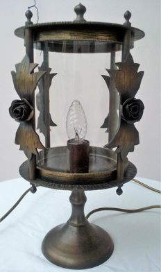 Unknown designer - Bronze table lamp