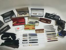 35 rare and luxury pieces *** Heritage Collection *** - Montblanc/St Dupont/Cartier/Pilot namiki/Parker etc
