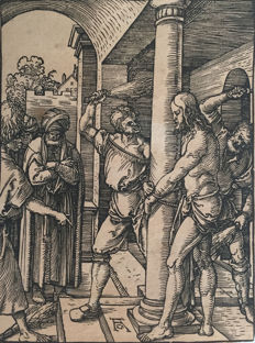 Albrecht Dürer (1471-1528) - The Flagellation, from The Small Passion - 1509