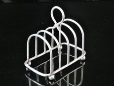 Silver Toast Rack - Silversmiths & Goldsmiths Co Ltd - London - 1928