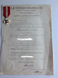 Knight of the Crown of Italy