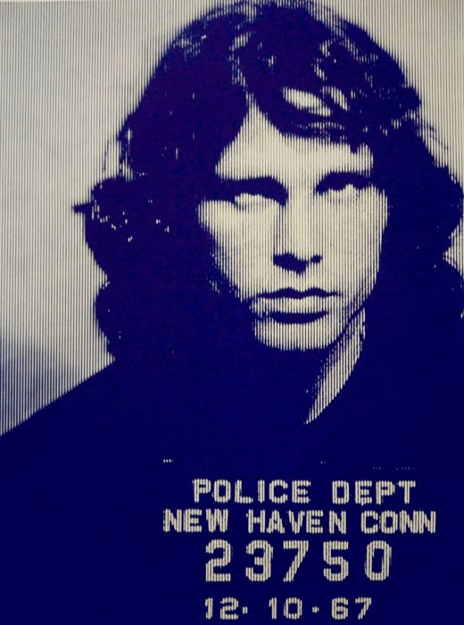 David Studwell - Jim Morrison-Blue