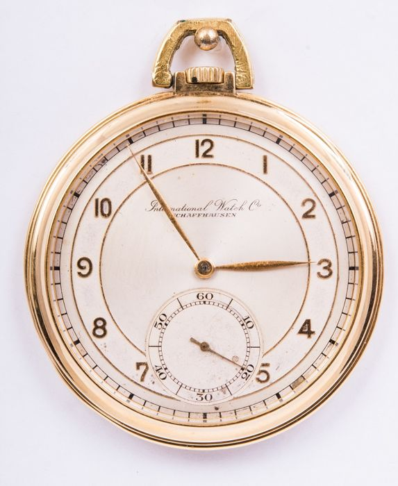 IWC - Rare International Watch Co. IWC 18kt pocket watch - 52mm in perfect working condition Art deco  - Uomo - 1901-1949