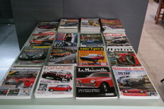 Collection of various Italian classic car magazines - 54 items