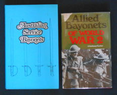 Two reference books about bayonets