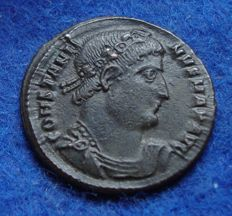 Roman Empire - AE of Constantine the Great (307–337 A. D.) struck in Thessalonica (P759)