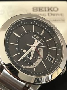 Seiko - Spring Drive GMT - SNR009 - Homme - 2000-2010