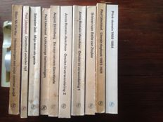 Privé-domein; Lot with 10 volumes from this series - 1966 / 1984