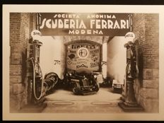 Print photo, anonymous company, Ferrari Modena