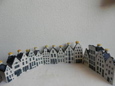 Collection of 14 Houses made for KLM by Bols