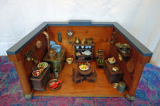 Doll house, rustic kitchen - Germany