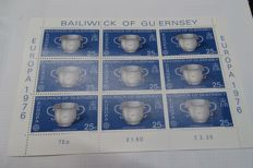 Guernsey - Collection of 60 sheets