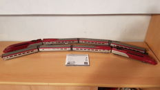 Mehano H0 - 29705/29847/29848 - High-speed train set ''Thalys'' with extension kit, additional wagon and complete lighting set