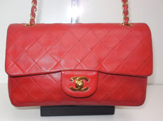 Chanel - Timeless/classic 2.55 double flap, double chain Schoudertas - VIntage
