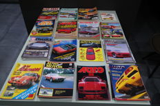 Nice collection Dutch classic cars books - 42 pieces