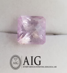 Kunzite – 13.71 ct – no reserve price