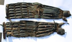 Medieval japanese gloves sino gote, 70 сm - Japan - 17th - 19th century (Edo period)