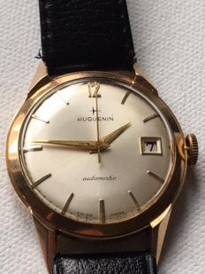 Huguenin - Classic/Vintage-Ultra Rare-18K(0.750) Yellow Gold - 2465 - Men - 1950-1959