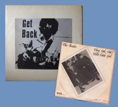 """The Beatles - LP:   """"Get Back""""   &  7'inch:   """" Three Cool Cats"""""""