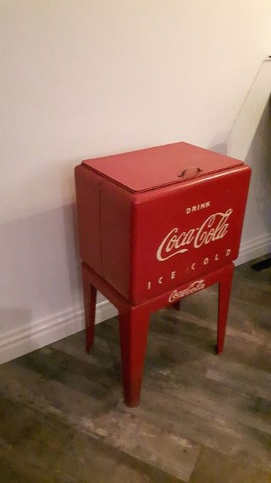 Coca-Cola cool-box - second half of the 20th century.